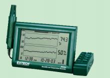 美国NovaLynx 湿度-温度数字图表记录仪-225-RH520A