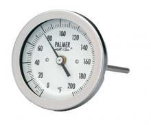 轴向型双金属温度计-3BC系列