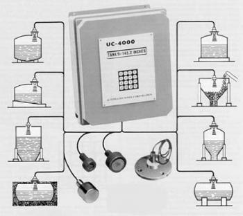全球首个多槽式超声波液位传感器-Model UC-4000